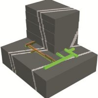Tunnel sequencing with ground support elements and faults zones (FLAC3D)