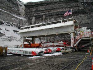 Highwall Mining Operation